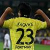 Premier doublé pour Kagawa