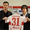 Shinji Okazaki officiellement transféré au VFB Stuttgart