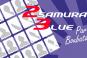 Mes 23 Samouraïs Blue – par Boubata