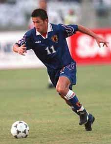 Kazu un des joueurs qui a relancé le football japonais