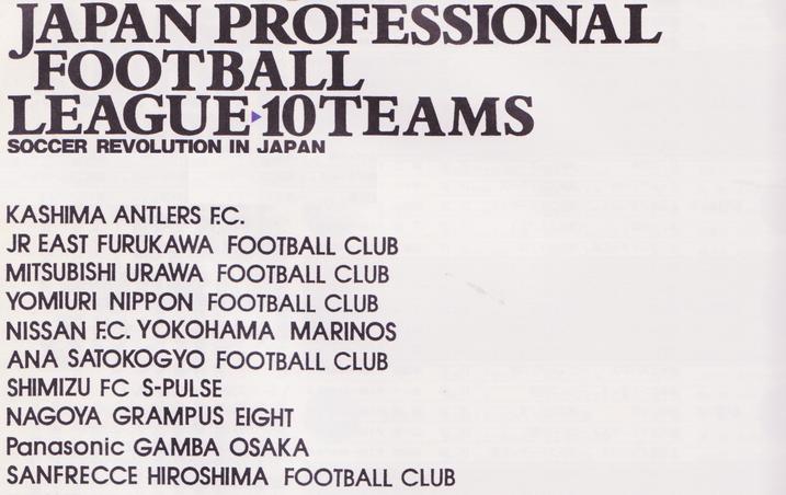 Les clubs sélectionnés et leurs affiliations