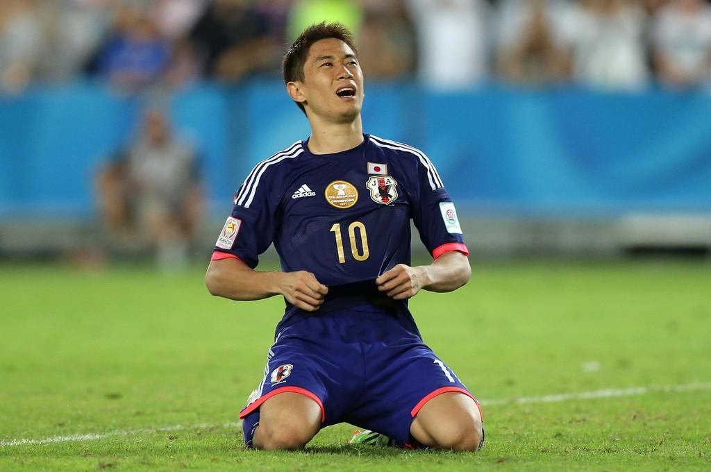 """Shinji Kagawa après le tir au but raté """"fatal""""...Estomaqué."""