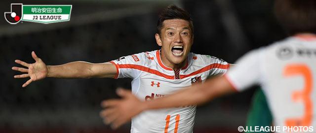 Avec un carton à Gifu (0-5), Ryuji Bando et Omiya prennent la tête de la J2. (Photo: jleague.jp)
