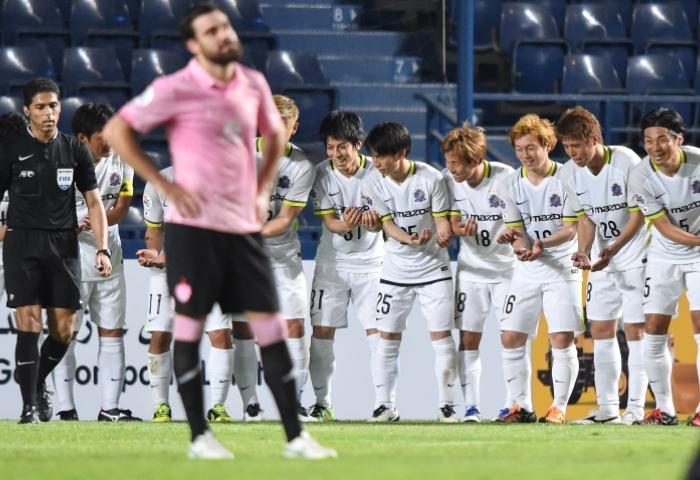 Grâce à sa victoire en Thaïlande, Hiroshima peut encore espérer une place en huitièmes (photo: the-afc.com)
