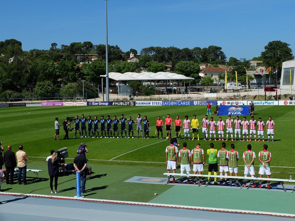 Japon-Paraguay : les deux équipes