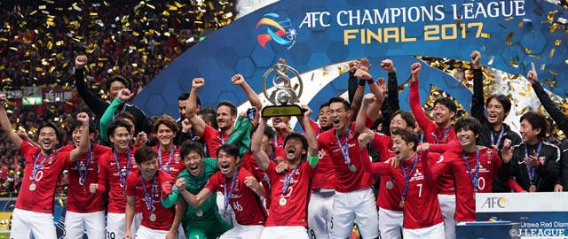 Urawa remporte à nouveau la Ligue des Champions asiatique, dix ans après son premier titre dans la compétition (photo: jleague.jp)